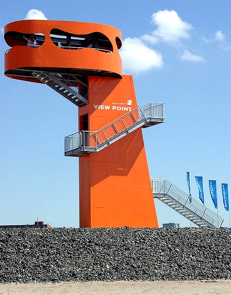 Aussicht über den #Hafen #Hamburg vom View Point Hafen City / Enjoy the sights of Hamburg port from the Hafen City View Point [Foto: KMJ, Lizenz: CC-BY-SA-3.0 (http://creativecommons.org/licenses/by-sa/3.0/)]