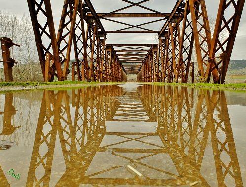 wet old bridge