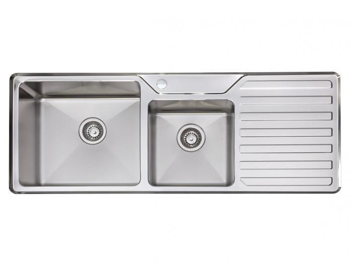 1250 DP Inset Kitchen Sink