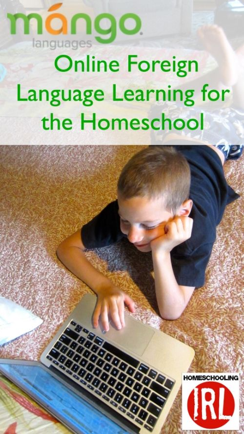 Mango Languages: Online Foreign Language Learning for the Homeschool — Homeschooling In Real Life  http://www.homeschoolingirl.com/blog/we-got-to-try-mango-languages-and-this-is-what-we-think