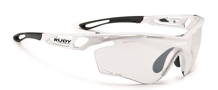 TRALYX WHITE GLOSS WITH IMPACTX-2 PHOTOCHROMIC CLEAR TO BLACK LENSES