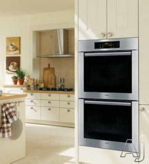 Miele 30 Double Electric Wall Oven modern ovens