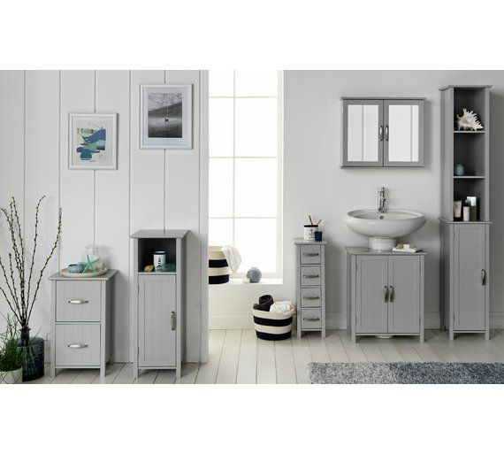 Enjoyable Home Tongue And Groove Undersink Storage Unit Grey Interior Design Ideas Apansoteloinfo