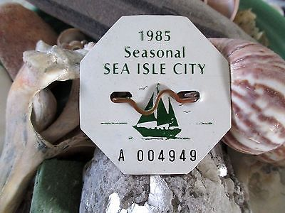 Sea Isle City Beach Tag Jewelry