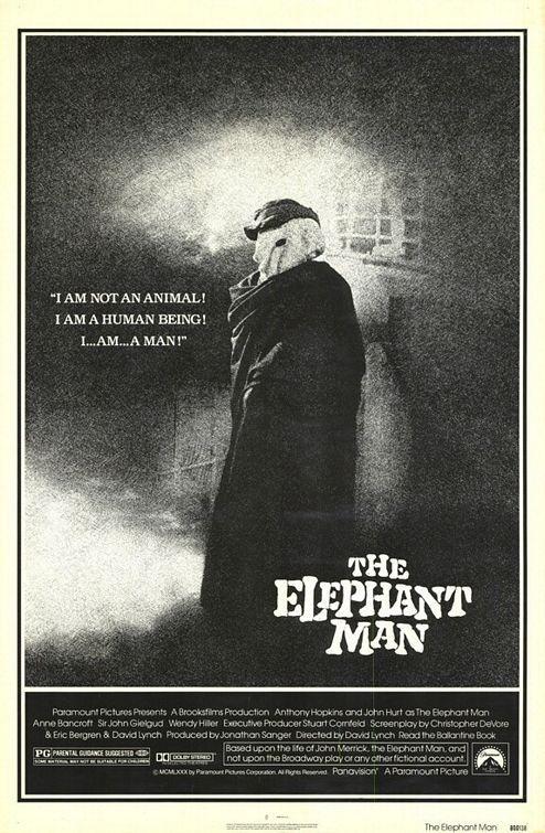 """The Elephant Man"" > 1980 > Directed by: David Lynch > Drama / Biopic / Medical Drama / Period Film"