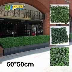[ $98 OFF ] 12Pcs 50X50Cm Green Artificial Boxwood Hedge Plastic Garden Fence Landscapeleaves Boxwood Hedge Mat Plastic Artificial Foliage