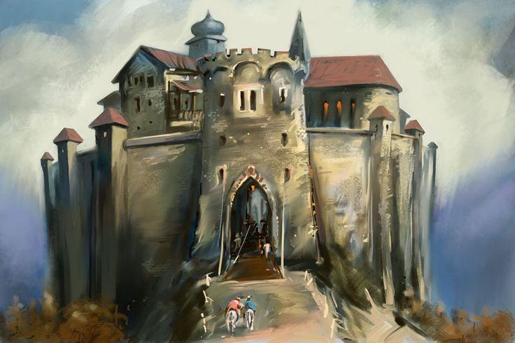 hrad, corel painter