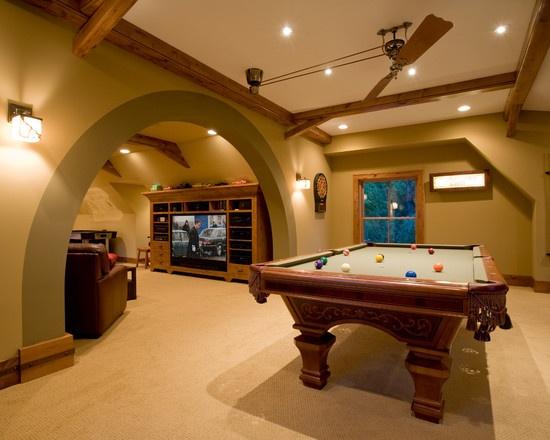 Bonus Room Above Garage Decor