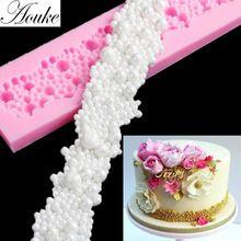 3D 1ks New Diamond náhrdelník tvar Silikónová forma, čokoláda, želé, cukríky Pečenie tortu Tools, DIY Ručné Kuchynské G182 (Čína (pevninská časť))