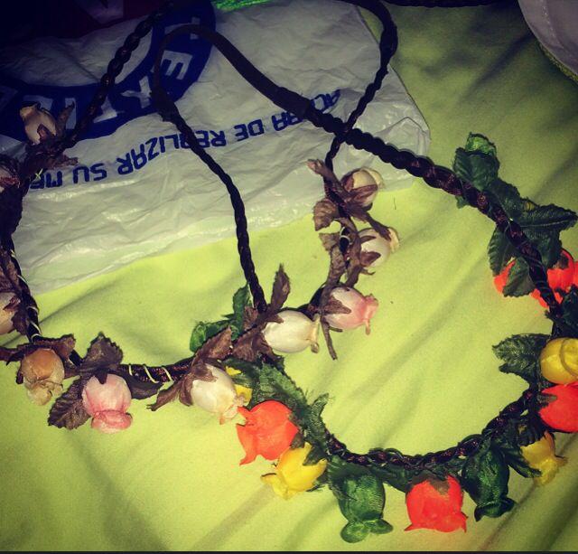 Balacas de flores
