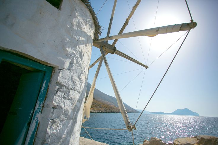 Discover the 39 windmills of Amorgos ! L'île d'Amorgos compte 39 moulins à vent ! Journée idéale pour les découvrir ! 