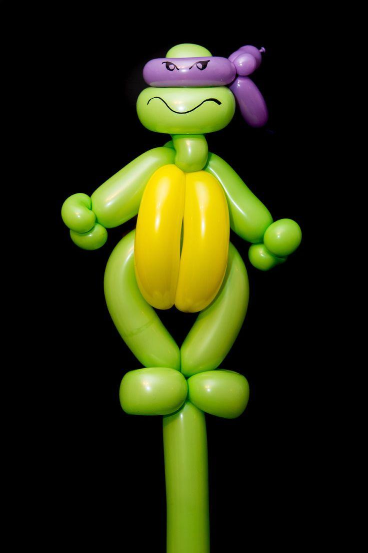 Ninja Turtle Balloon Twist                                                                                                                                                     Más