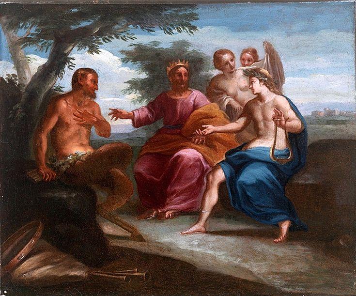 The Athenaeum - Apollo and Marsyas (Francesco Albani - )