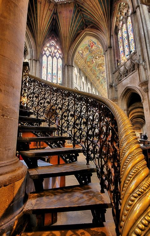 Ely Cathedral, Cambridgeshire, UK dates from 673AD