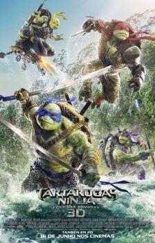 As Tartarugas Ninja: Fora das Sombras Dublado