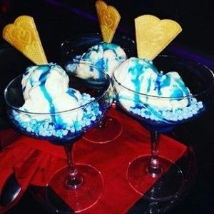 Bubblegum millions makes a great ice cream topper. Click for more.