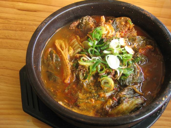 Hae Jang Gook (해장국): Korean hangover food.