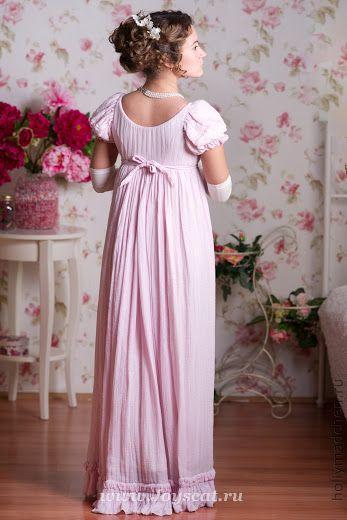 Прокат- ампир розовый шелк