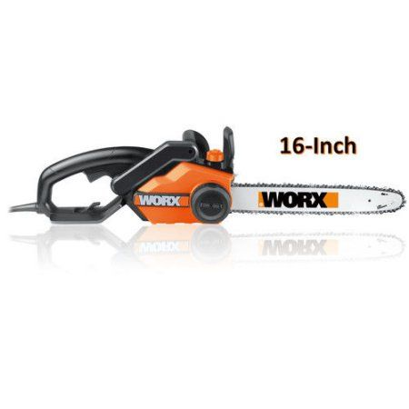 Worx WG303.1 14.5 Amp 16 in. Electric Chainsaw, Multicolor