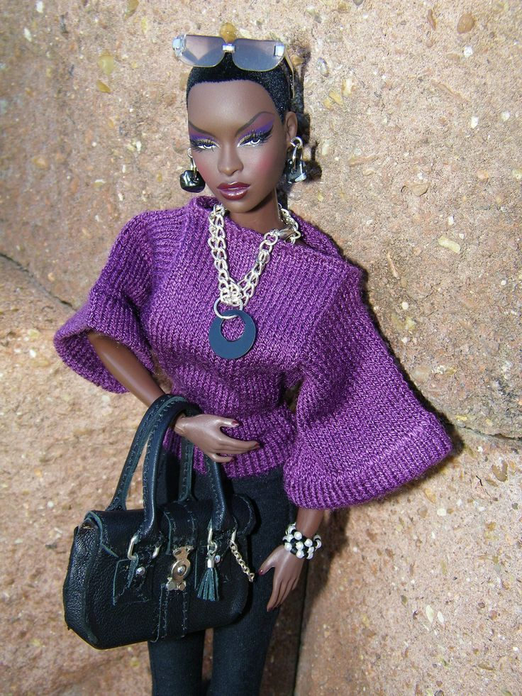 1000 Images About Black Doll Sorority On Pinterest Black Barbie Poppies And Locs