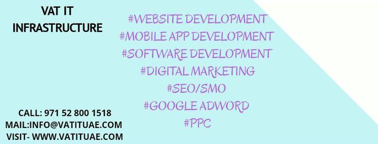 Vatituae provide website design, mobile app design, mobile app development, seo, smo, google adword, software developer, software development uae, dubai uae abudhabi, best development responsive design. Call Us - +971528001518