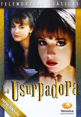 La Usurpadora - DVD Telenovela NEW FACTORY SEALED *  Televisa Novela (1998)