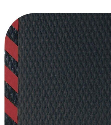 "Andersen 424 Nitrile Rubber Hog Heaven Anti-Fatigue Mat with Red Striped Border, 3' Length x 2' Width x 7/8"" Thick, For Wet/Dry Areas by Andersen. $58.06. Exceptional Anti-Fatigue matting. HogHeaven mats are constructed of solid Nitrile rubber surface with a closed-cell Nitrile/PVC cushion backing. This surface offers better chemical resistance along with textured surface for superior slip resistance. Ideal for any anti-fatigue area. Hog Heaven mats are welding safe and anti-sta..."