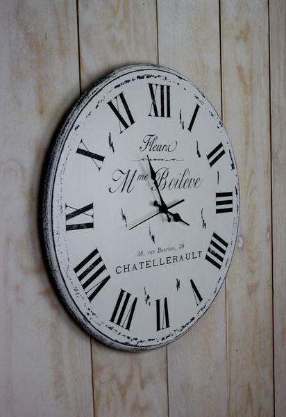 Zegar Mme Boileve 55 cm w Madame Binier na DaWanda.com #niezchinzpasji