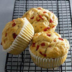 Recept - Kaasmuffins met rode peper - Allerhande