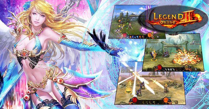 Legend Online 2 порадует фанатов ярких и запоминающихся ММОРПГ приятной графикой, слегка анимешными героями.