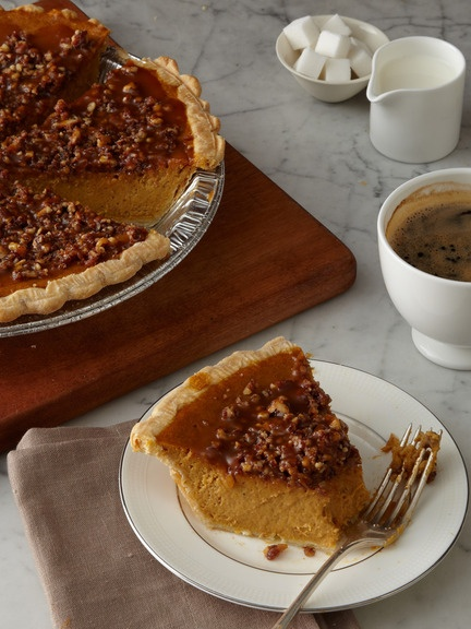 pumpkin pecan praline pie recipes dishmaps pumpkin pie with pecan ...