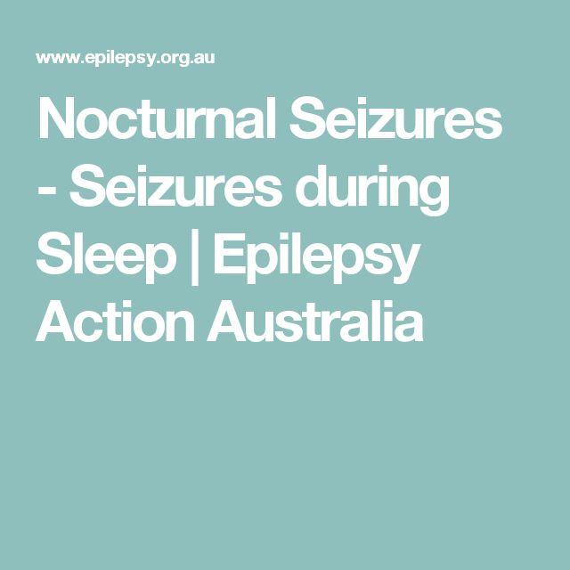 Nocturnal Seizures - Seizures during Sleep | Epilepsy Action Australia