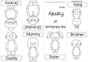 family Mini-book                                                                                                                                                     Más