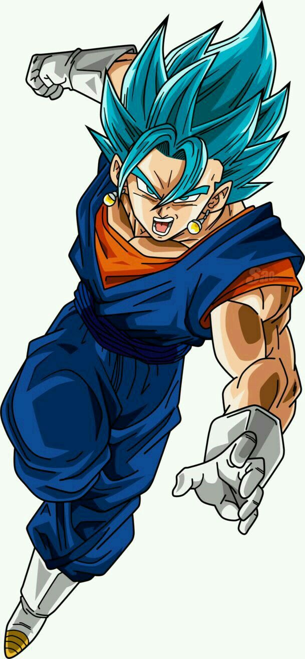 Vegetto Super Sayajin Deus Super Sayajin (SSJ Azul)