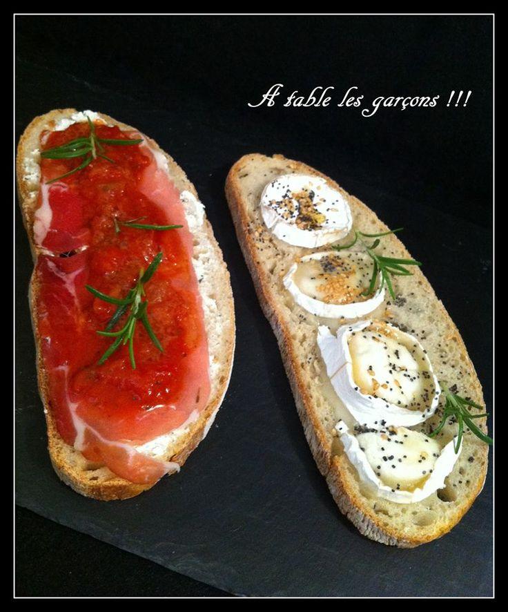 ** Tartines Party ~ A table les Garçons ** http://atablelesgarcons.over-blog.com/