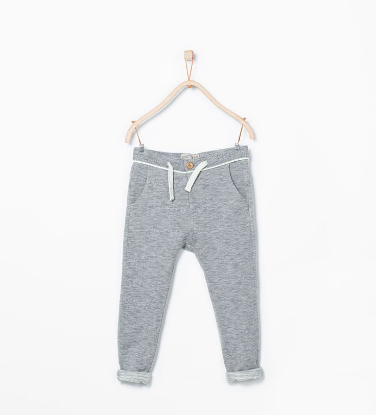 Image 1 of Herringbone sweatpants from Zara