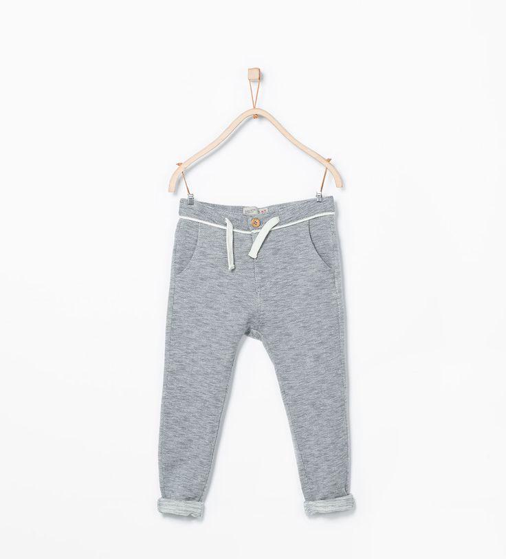 Herringbone sweatpants