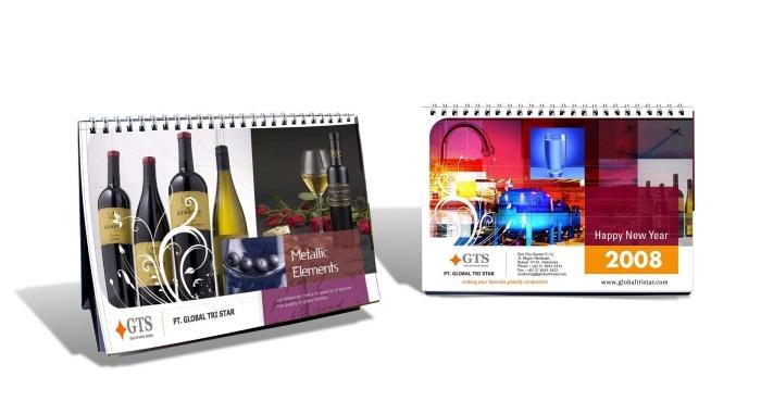 Desk Calendar  Client : Globat Tristar