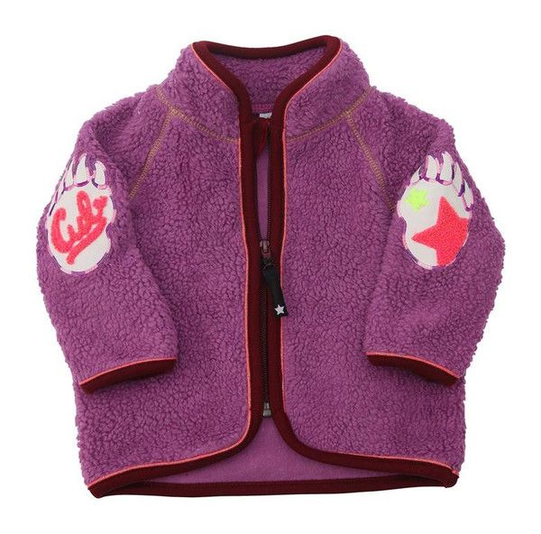 Molo Urvan Beet Purple Baby Fleece Jacket
