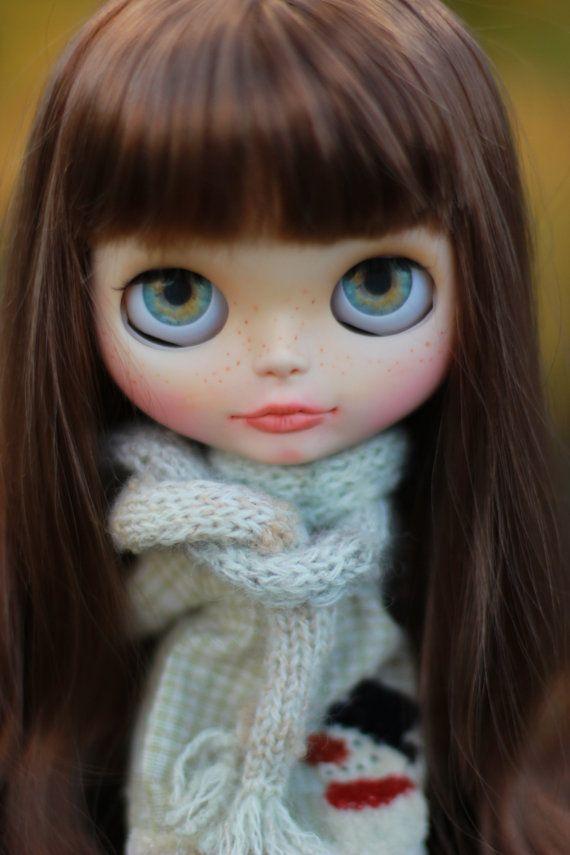 Benutzerdefinierte Blythe Puppe Deborah - OOAK