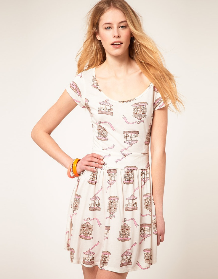 carousel print dress <3Style Sorting, Prints Dresses, Dresses Up, Prints Clothing, Carousels Prints, Rocks Carousels