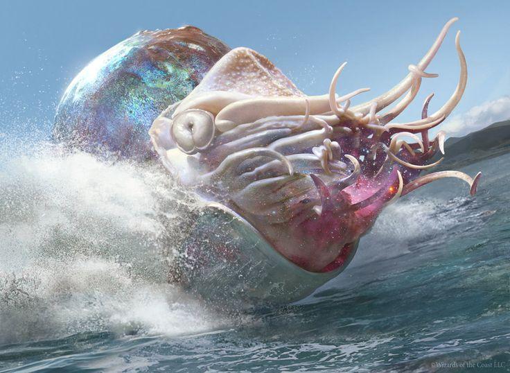 Magic The Gathering: Crystalline Nautilus by Cryptcrawler on deviantART
