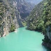 Les Gorges du Verdon in Provence, France