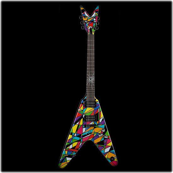 DEAN GUITARS MS KALEIDO - Guitare Electrique Michael Schenker Kaleidoscope