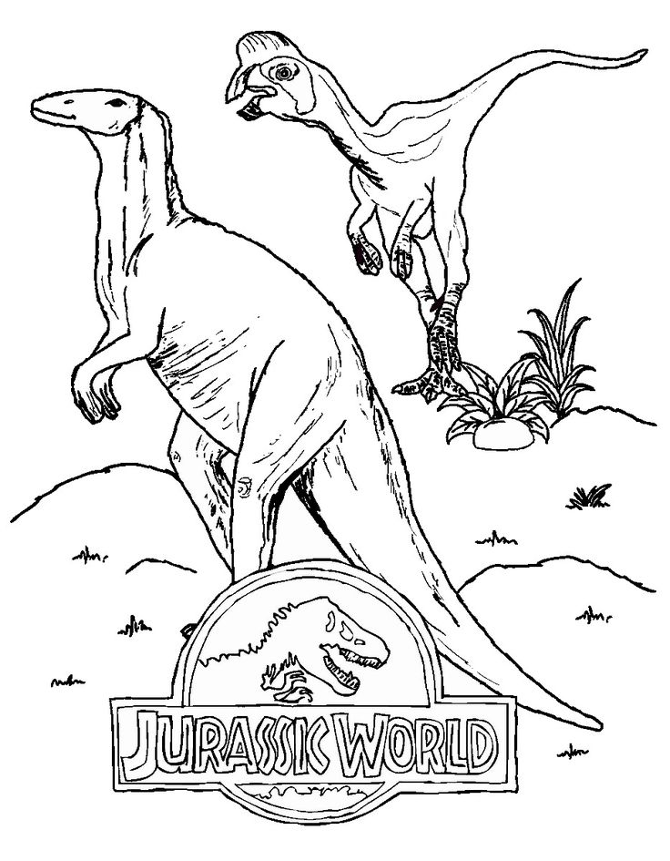 jurassic world coloring pages - Lego Jurassic Park Coloring Pages