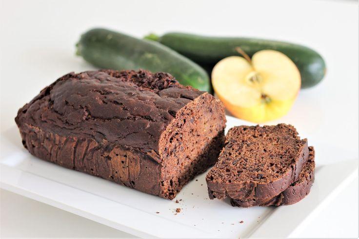 Cuketový čokoládový chlebíček z celozrnné mouky