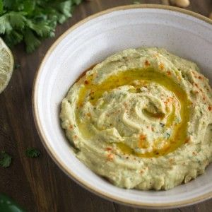 Hummus Recipe with Jalapeno and Lime