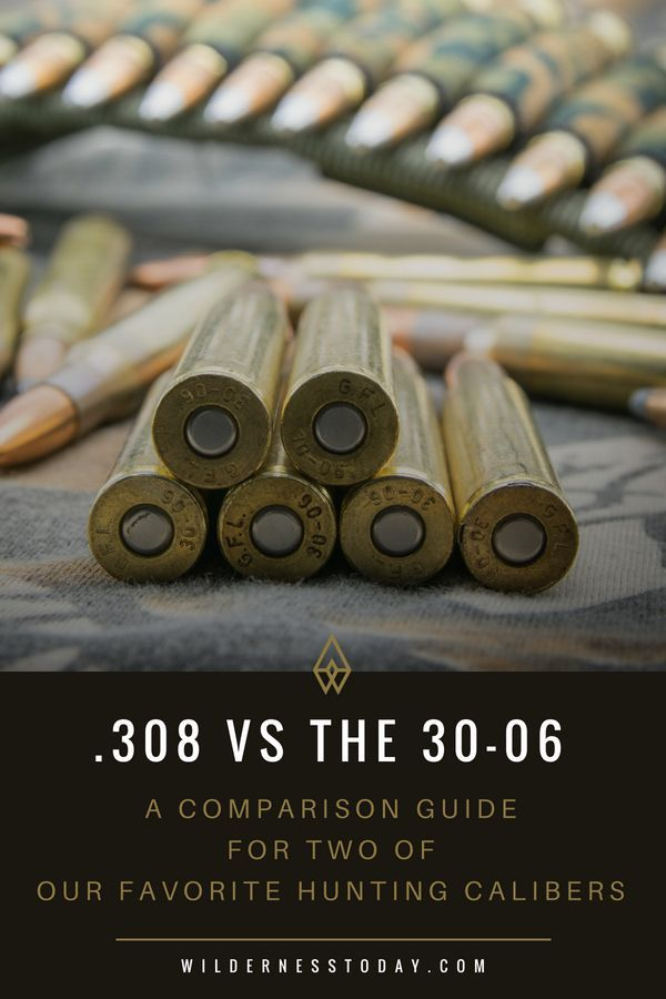 308 vs 30 06 for hunting ballistics accuracy more guns and