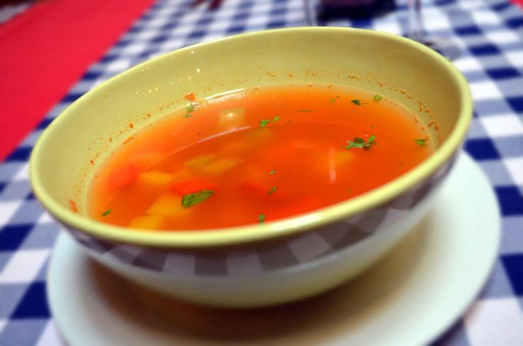 Lunch menu - Minestrone