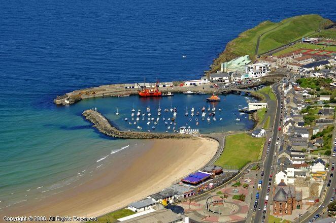 Portrush harbour, Northern Ireland